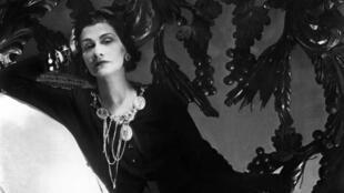 Coco Chanel en 1944.
