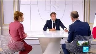 2020-07-14 14:01 Macron wants 'masks to be mandatory in all indoor public places' from August 1