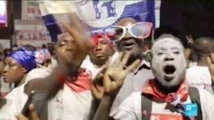 2020-12-10 10:09 Ghana president Nana Akufo-Addo wins re-election with 51.59% of vote
