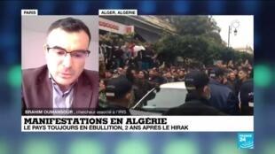 2021-02-22 13:18 Algérie : deux ans du Hirak, le pays toujours en ébullition