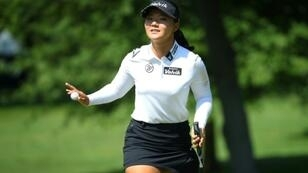 South Korean teen rookie Chun Youngin fired a seven-under par 64 to share the lead at Thursday's first round of the LPGA Marathon Classic