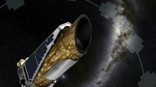 """رسم نشرته وكالة الفضاء الأمريكية للتلسكوب الفضائي """"كيبلر"""""""