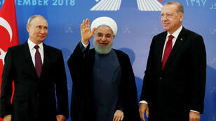 La rencontre entre Poutine, Rohani, et Erdogan doit déterminer le calendrier de l'offensive contre Idleb.