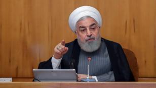 El presidente de Irán, Hasan Rohani, durante una reunión del Consejo de Ministros en Teherán el 3 de julio de 2019.