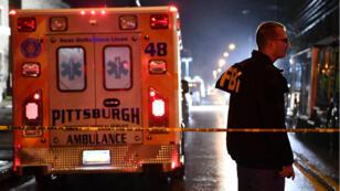 Une fusillade a eu lieu dans une synagogue à Pittsburgh, en Pennsylvanie, le 27 octobre 2018.