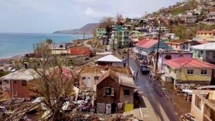 """Capture d'écran de la vidéo """"A day in Dominica"""", publiée le 27 septembre 2017."""