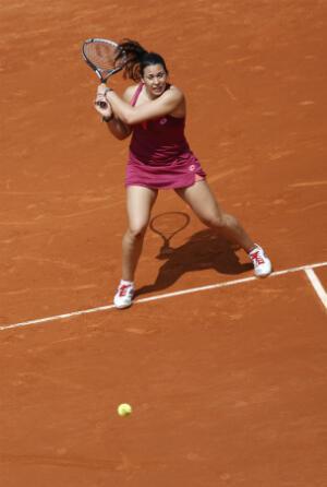Marion Bartoli prise de vitesse