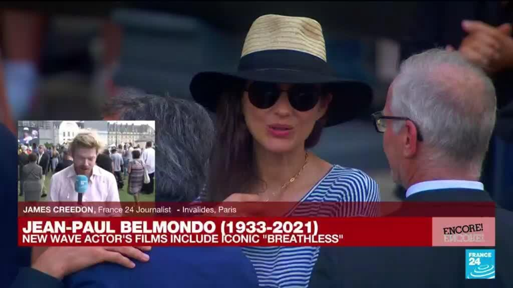 2021-09-09 17:20 'His legacy will go on': France pay tribute to Jean-Paul Belmondo