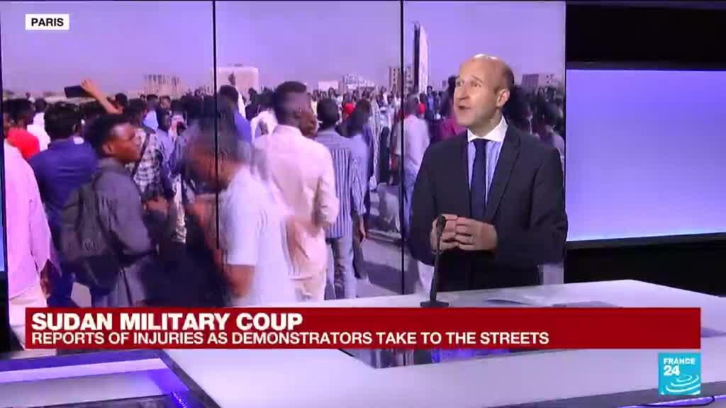 2021-10-25 14:01 'A classic coup': Sudan's military takes power, arrests civilian prime minister