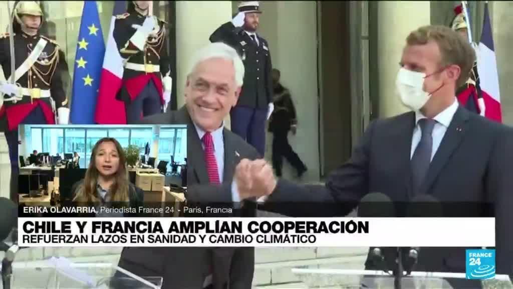 2021-09-06 19:04 Informe desde París: mandatarios de Chile y Francia refuerzan lazos de cooperación