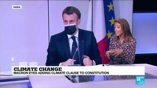 2020-12-15 13:15 Macron plans referendum to add climate clause to constitution