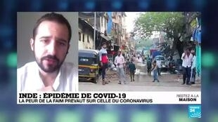 2020-04-07 09:07 Pandémie de Covid-19 : En Inde, la peur de la faim prévaut sur celle du coronavirus