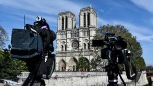"Notre-Dame's chief priest said the surrogate ""cathedral"" would be erected quickly"