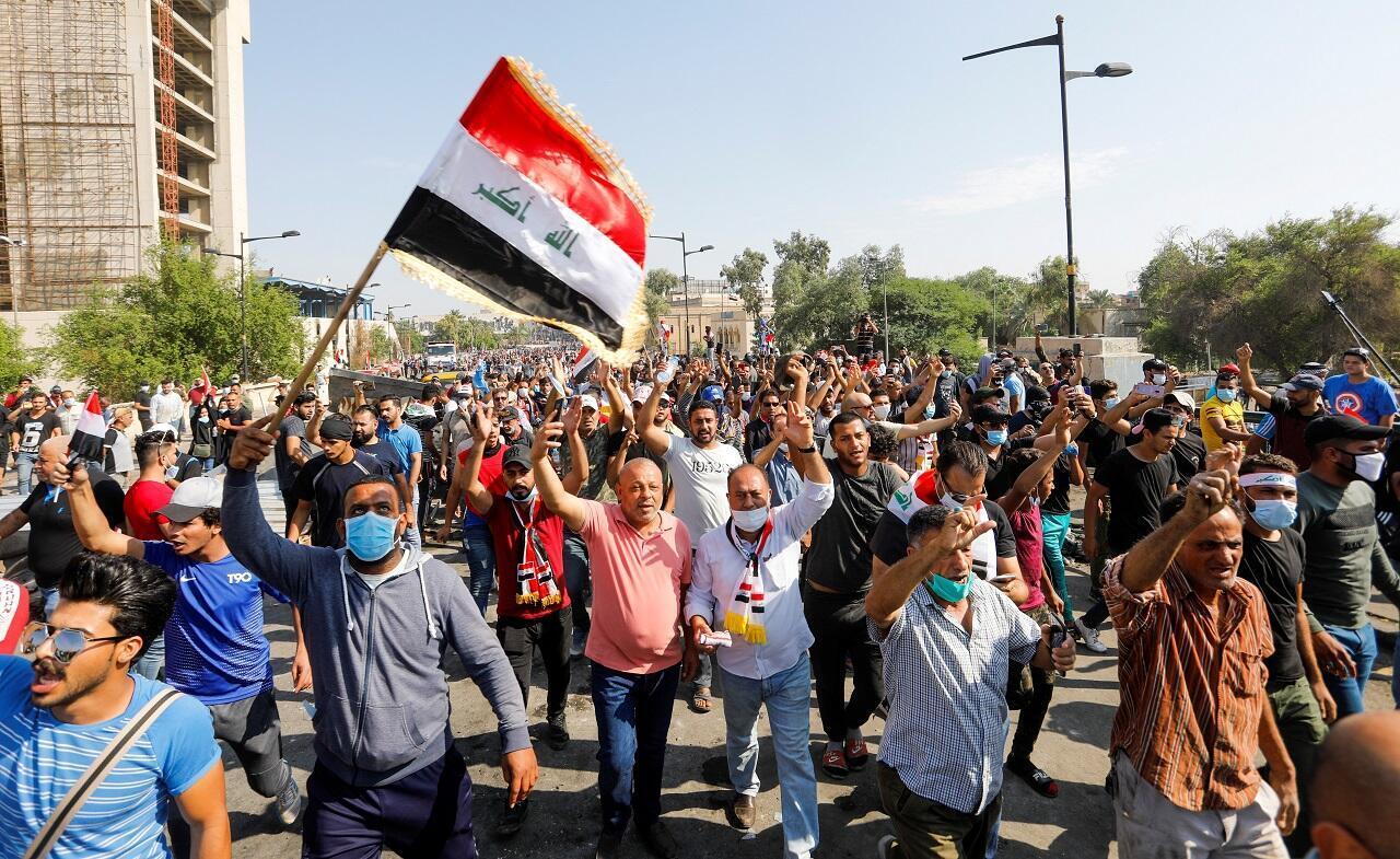 مظاهرة في العراق