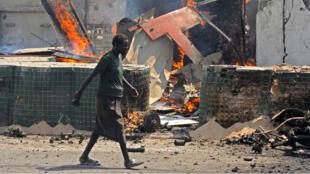 Un précédent attentat-suicide des Shebab avait fait six morts à Mogadiscio, le 31 juillet 2016.