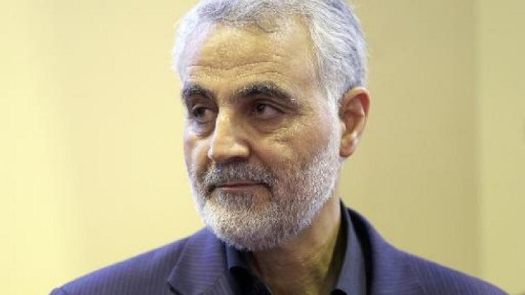 -قائد فیلق القدس في الحرس الثوري الإيراني اللواء قاسم سلیماني