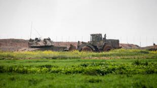 السياج الفاصل بين قطاع غزة وإسرائيل