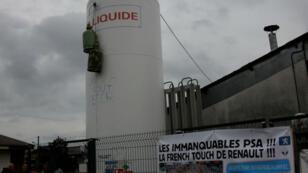 Des salariés de GM&S Industry affirment avoir disséminés des bonbonnes de gaz dans l'usine