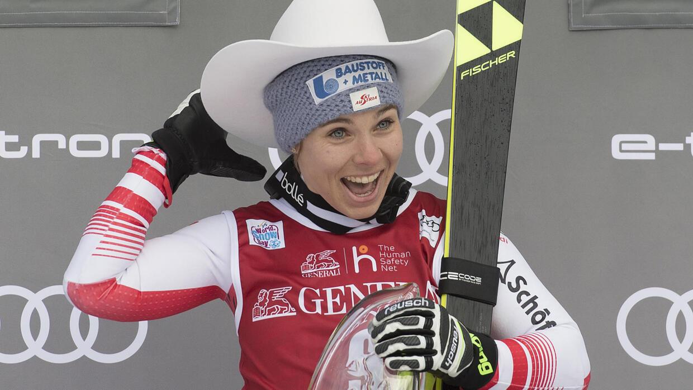 Austria's Schmidhofer wins Lake Louise downhill