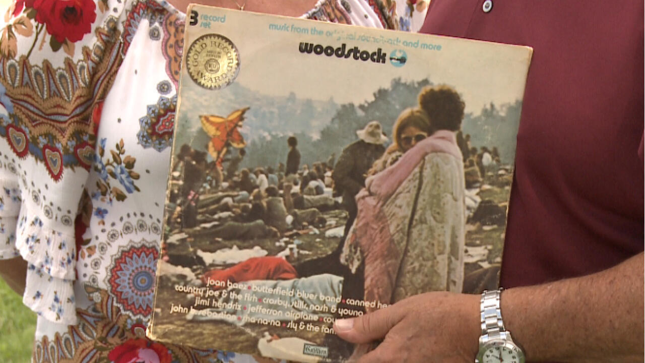 Fifty years after Woodstock, its poster children wax