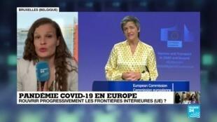 2020-05-13 14:02 Covid-19 : vers une réouverture progressive des frontières entre Etats membres de l'UE ?