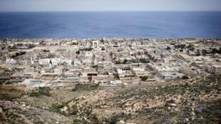 La ville de Derna, à l'est de la Libye, en 2011.