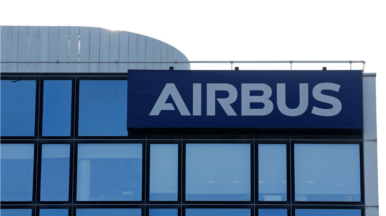 Fachada de las instalaciones de Airbus en Toulouse, Francia. Archivo.