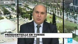 Le président de l'instance supérieure électorale tunisienne, Nabil Baffoun, a annoncé sur France24 que le second tour de la présidentielle aura lieu le 13octobre2019.