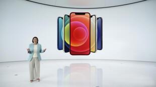 Apple a présenté le 13 octobre 2020 les iPhone 12, sa première gamme de smartphones avec la 5G