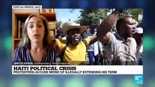 2021-02-11 16:09 Haitian protesters, police clash after president moves against top judges