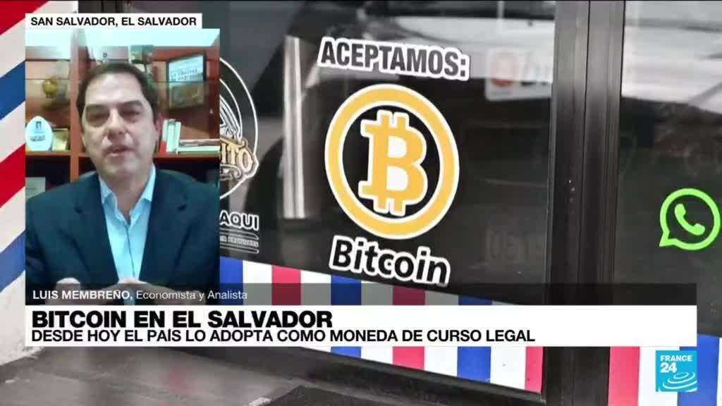 """2021-09-07 14:34 Luis Membreño: """"No hay expectativa de que el bitcoin genere crecimiento económico en El Salvador"""""""