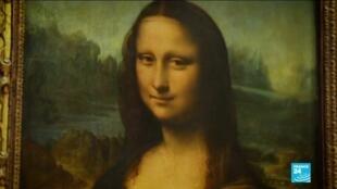 2021-02-16 08:24 The Louvre museum's artwork undergoes major renovations during lockdown