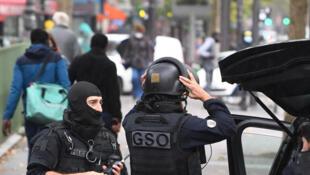 Police france charlie hebdo