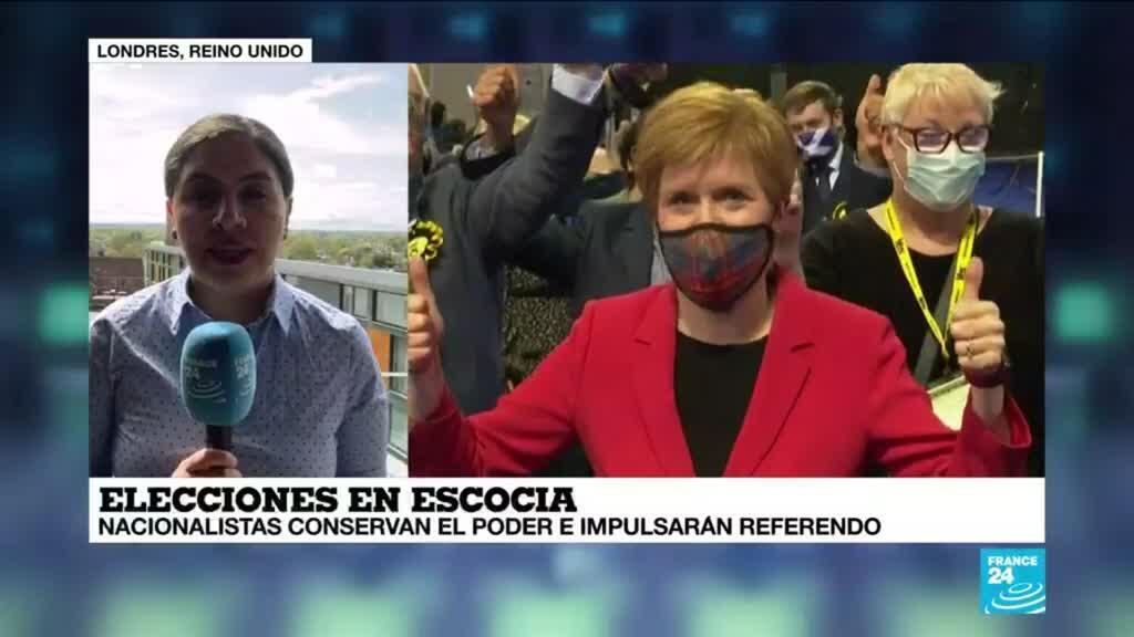 2021-05-09 13:38 Informe desde Londres: nacionalistas impulsarán referendo independentista de Escocia