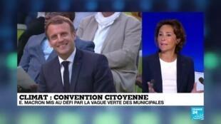 """2020-06-29 13:06 Convention citoyenne pour le climat : """"Cette convention est la suite logique du Grand débat"""""""