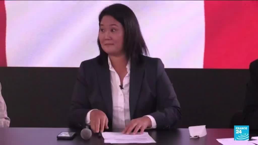 2021-06-16 13:10 Peru leftist Castillo claims election win as Fujimori fights result