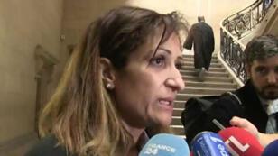 والدة جهادي مفترض فرنسي قتل في سوريا أمام المحكمة الجنائية في باريس الثلاثاء 5 أيلول/سبتمبر 2017