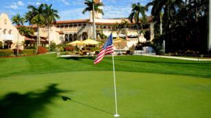 Le club de golf de Mar-A-Lago, propriété du président américain Donald Trump.