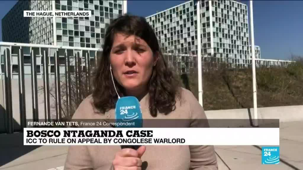 2021-03-30 14:10 Bosco Ntaganda case: ICC to rule on appeal by Congolese warlord