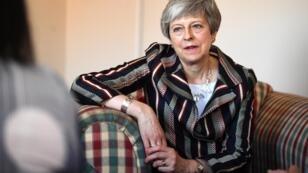 Theresa May le 13 mai 2019 à Londres.