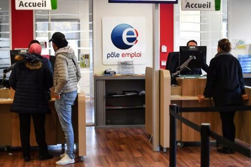 Une agence de Pôle emploi, le 3 janvier 2019 à Montpellier.