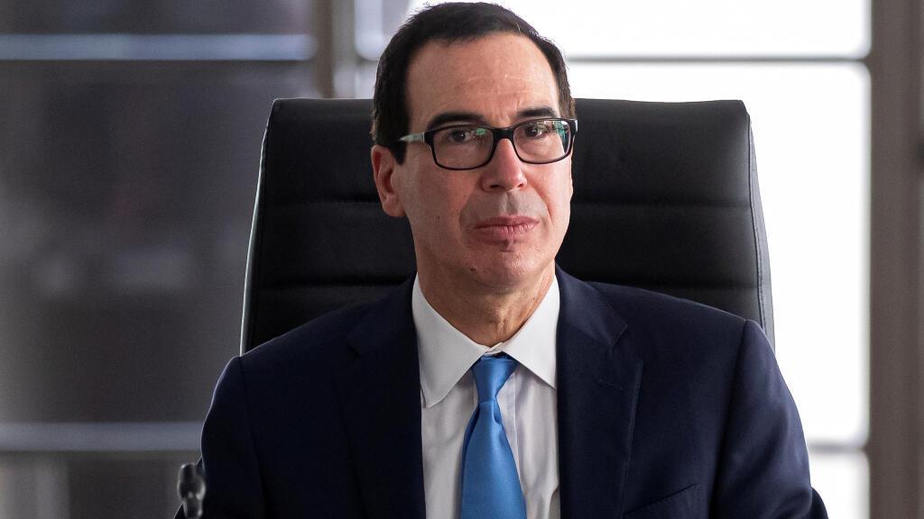 El secretario del Tesoro de los Estados Unidos, Steven Mnuchin, ha sido el encargado de dirigir las sanciones hacia los hijastros de Nicolás Maduro y al empresario colombiano Alex Saab.