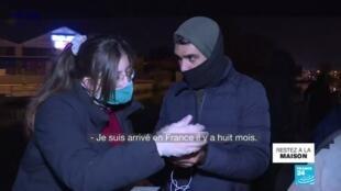 2020-03-30 11:01 Covid-19 : Mettre les migrants à l'abri, l'autre urgence en France