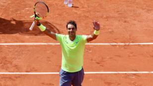 Grand favori, Rafael Nadal a parfaitement géré son entrée en lice.