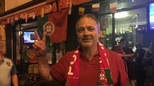 César est allé au bout de ses émotions, dimanche 10 juillet, lors de la finale de l'Euro-2016.