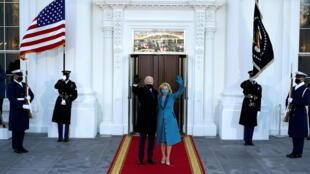 Etats-unis Biden président maison blanche