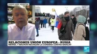 """2021-02-06 13:33 Alberto Hutschenreuter: """"Hay una fuerte ofensiva externa sobre Rusia"""""""