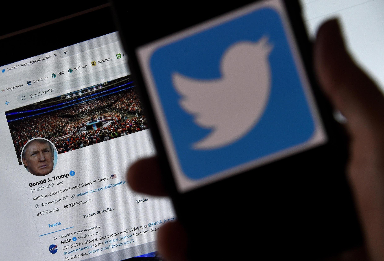 Donald Trump y Twitter están actualmente en conflicto abierto.
