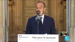 2020-05-14 14:00 French PM Philippe unveils 18-billion-euro rescue plan for tourism sector