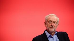 Jeremy Corbyn au congrès annuel du parti travailliste, à Brighton, le 28 septembre 2015.